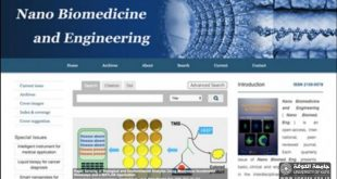 We publish scientific research in the US journal Nano Biomed En