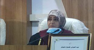 مشاركة بحثية في احد المؤتمرات القطرية لتدريسية