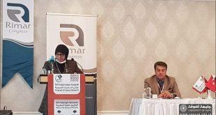 مشاركة بحثية في مؤتمر علمي دولي